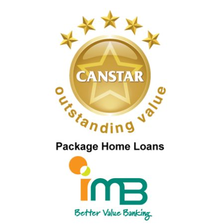 IMB PACKAGING GREAT deal for HOME BUYERS  Each year CANSTAR research and rate a wide selection of package home loans available for home buyers in Australia. This year they have rated 31 Package Home Loans from 28 lenders, analysing both price and features of these packages to determine which ones offer outstanding value for money.  http://www.canstar.com.au/home-loans/imb-packaging-great-deal-for-home-buyers/