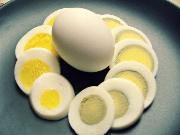 How to cook the perfect hard boiled egg - without the grey ring! mreens