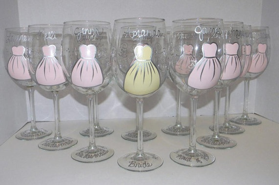 For bridesmaids...cute keepsake!