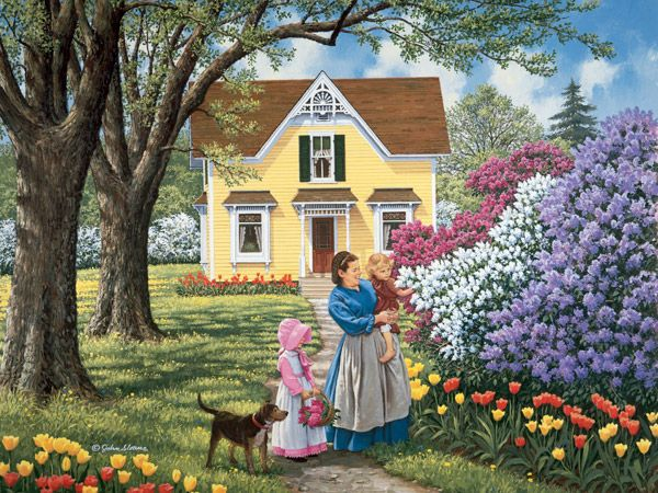 john sloan art | JohnSloaneArt.com - John Sloane - Gallery - Flowers and Gardens