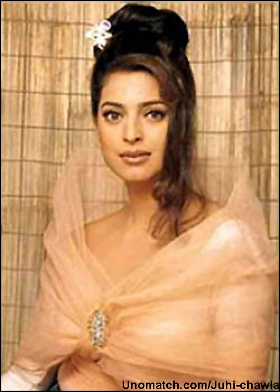 Juhi Chawla (born 13 November 1967) is an Indian actress and film producer, and the winner of the Miss India beauty contest in 1984. Chawla has worked predominantly in Hindi language films, in addition to Tamil, Telugu, Malayalam, Punjabi, Bengali and Kannada language films.  like : http://www.Unomatch.com/Juhi-chawla/
