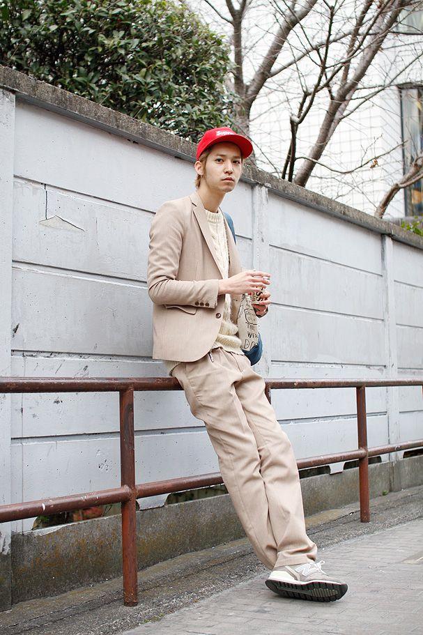 ストリートスナップ | 早瀬拓 | SHIMA 美容師 | 原宿 (東京)