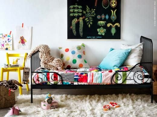 kids eclectic room..