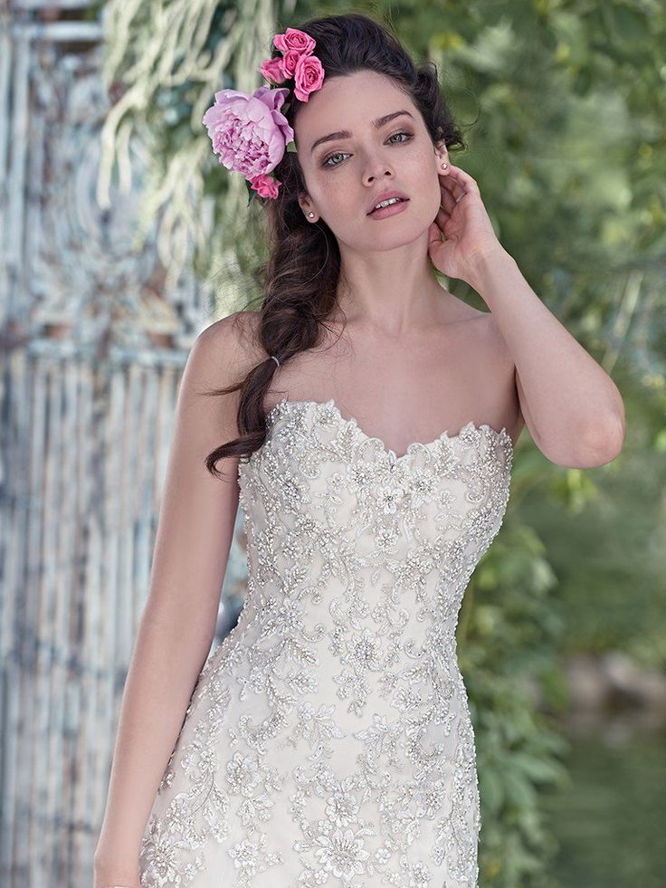 53 best Maggie Sottero images on Pinterest | Short wedding gowns ...