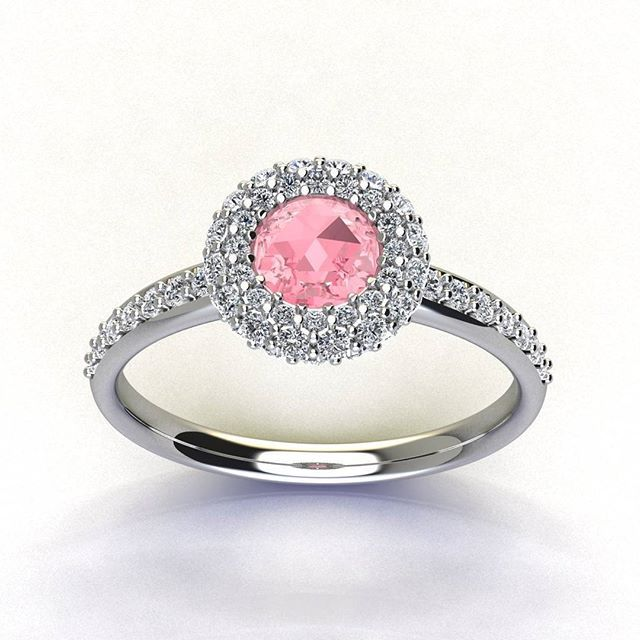 Give an unforgettable moment to your her, with this beautiful ring no rivals in terms of elegance, luxury and glamour. A classic ring with central oval ruby and 62 outline stones. Rose Sapphire ct 0.44 Diamonds ct 0.58 Gold about 3.30 #carinigioielli #rings #promise #engaged #wedding #fallwedding #christmas #bridesmaids #bride #groom #unique #unforgettable #luxury #glam #elegance #moda #italia #madeinitaly #masterpiece
