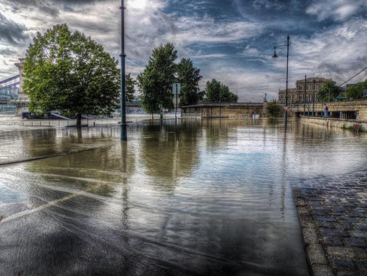 #budapest flood 2013 #photo by Vincze Tamás