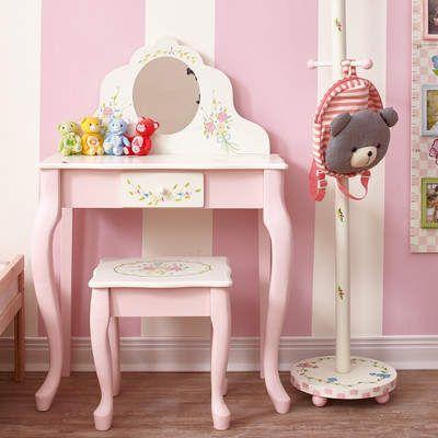 Wayfair 2-Piece Lombardi Kids Vanity Set