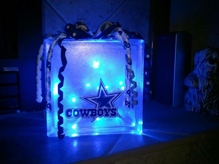 Glass block crafts glass blocks and cowboys on pinterest for Wholesale glass blocks for crafts