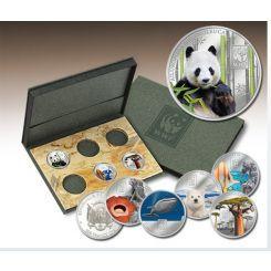 WWF-Coins Νομίσματα WWF, γραμματόσημα, Επισημους Φακέλους Α Κυκλοφορίας , WWF και Κάρτες Φεγιε. WWF Επίσημη Συλλογή των Νομισμάτων Νομίμου Κύκλοφορίας coins club greece