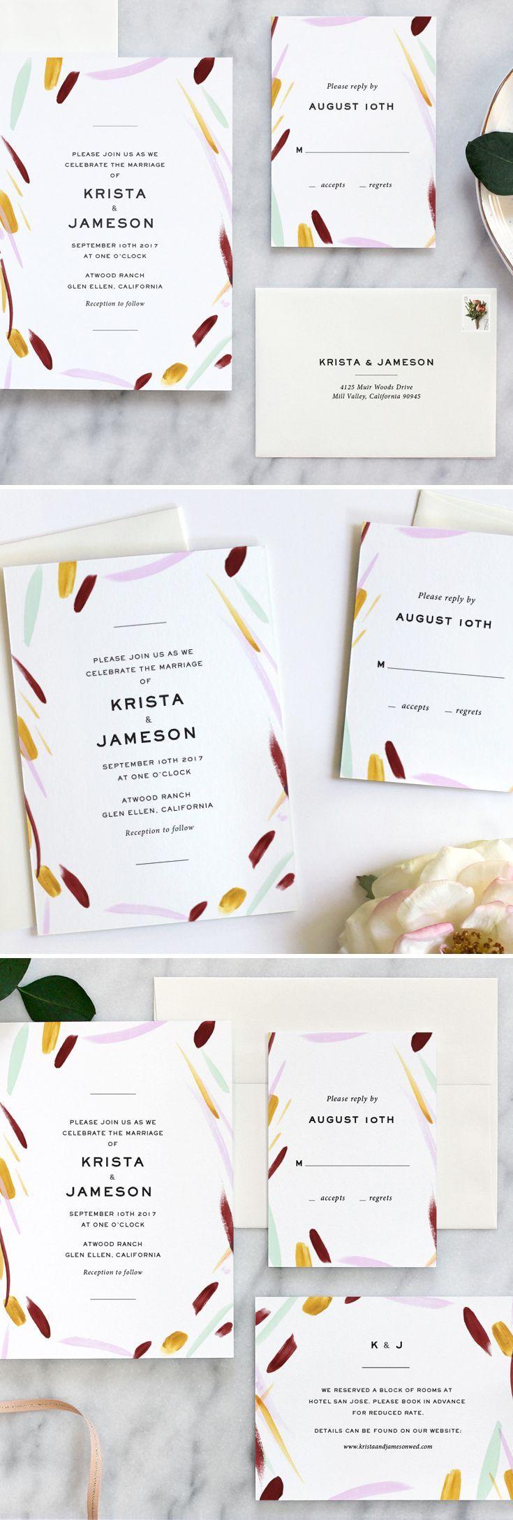 3795 Best Invitations Images On Pinterest Invitations Bridal