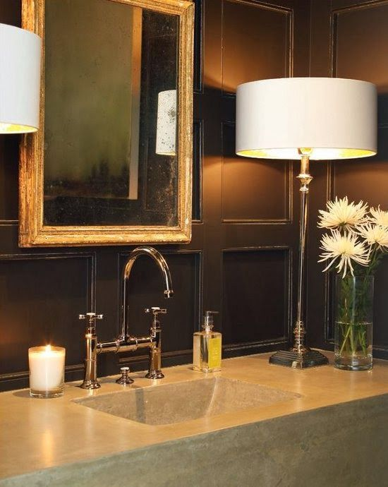 100 Ideas To Try About Powder Rooms Polished Nickel