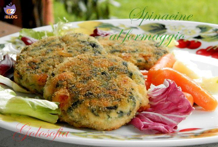 Spinacine al formaggio, medaglioni di pollo farciti con spinaci e formaggio filante! buonissimi...