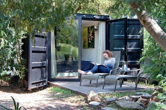 les 10 meilleures images du tableau container sur pinterest conteneurs maisons pr fabriqu es. Black Bedroom Furniture Sets. Home Design Ideas