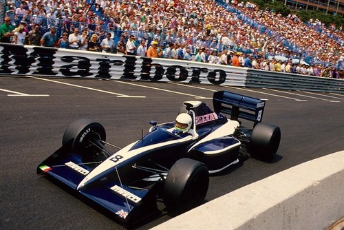 Stefano Modena Brabham - Judd Monaco 1990