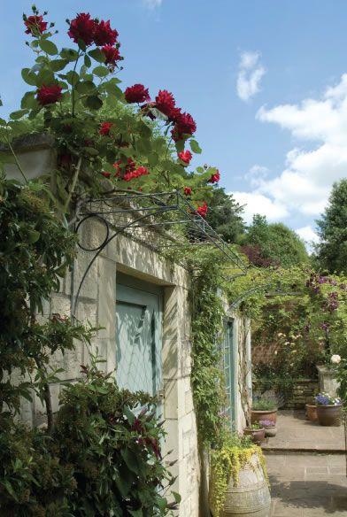 Over Door Porches - Door Canopy Designs - Metal Planters