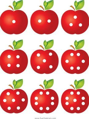 Apple Pairs - Dot Patterns - Preview 1