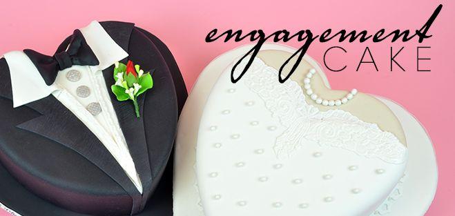 Engagement Cake – Beautiful Cakes