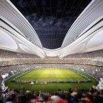 In November 2012, Zaha Hadid Architects won an international design competition for a futuristic stadium design for Tokyo 2020 Olympic Games.