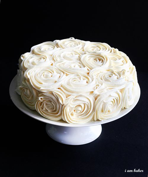 Rose Cake Tutorial: White Rose, Rose Frosting, Rosette Cake, Roses, Cakes Decor, Wedding Cakes, Rose Cakes Tutorials, Bridal Shower Cakes, Birthday Cakes