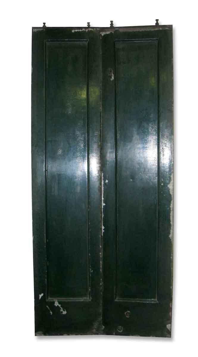 Set of Industrial Metal Elevator Doors
