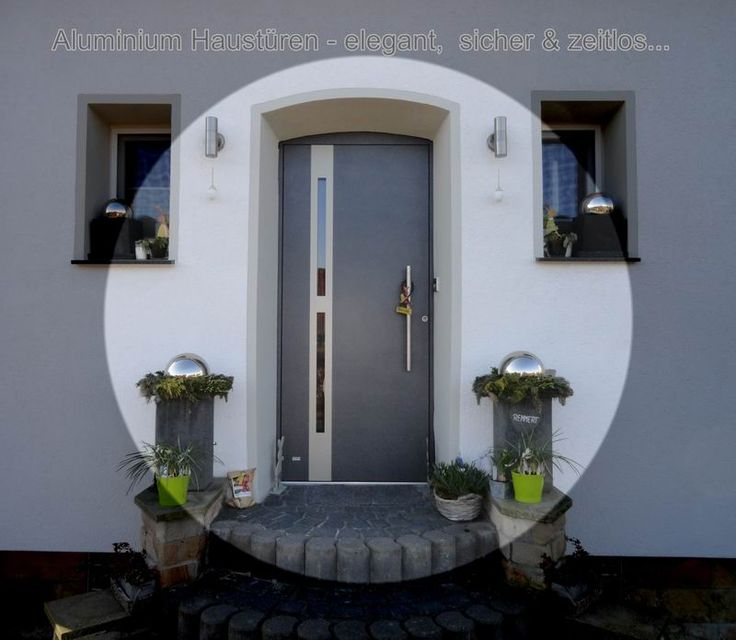 Aluminium #Haustüren - Aluminium #Hauseingangstüren als #Wetterschutz, #Wärmeschutz, #Einbruchschutz vom Fenster- Rollladen- und Sonnenschutz Experten #Mester aus #Bielefeld & #OWL