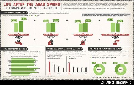 Infographic: The Changing Lives of Arab Youth.