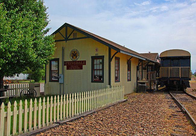 Arkansas Missouri Railroad - Springdale, Arkansas