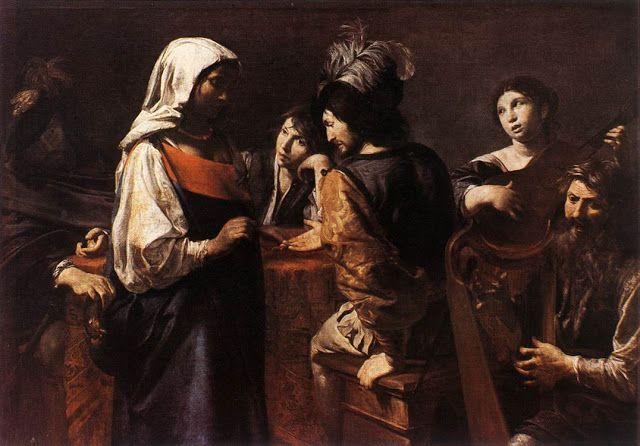 Χειρομάντισσα - 1628  Μουσείο Λούβρου