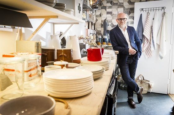 Pop into stylish independent homewares store Harriman & Coin St Martins, Leicester  and there's a good chance you'll be helped by a guy who's about to receive an OBE. What's more, he's a graduate of De Montfort University Leicester.
