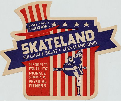 Skateland - Cleveland, Ohio by What Makes The Pie Shops Tick?, via Flickr