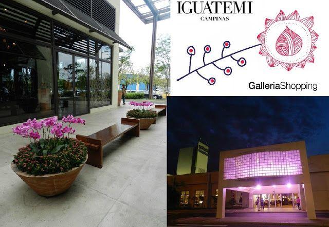 SOCIAIS CULTURAIS E ETC.  BOANERGES GONÇALVES: Outubro Rosa Iguatemi Campinas e Galleria Shopping...