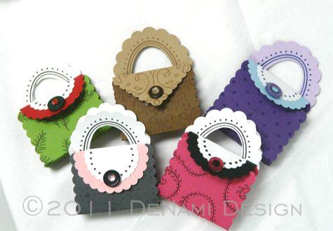 paper punch purses: Denami Design, Gifts Bags, Cute Purses, Friends Gifts, Miniatures Paper Purses, Paper Punch, Http Petboy709 Blogspot Com, Design Blog, Minis Pur