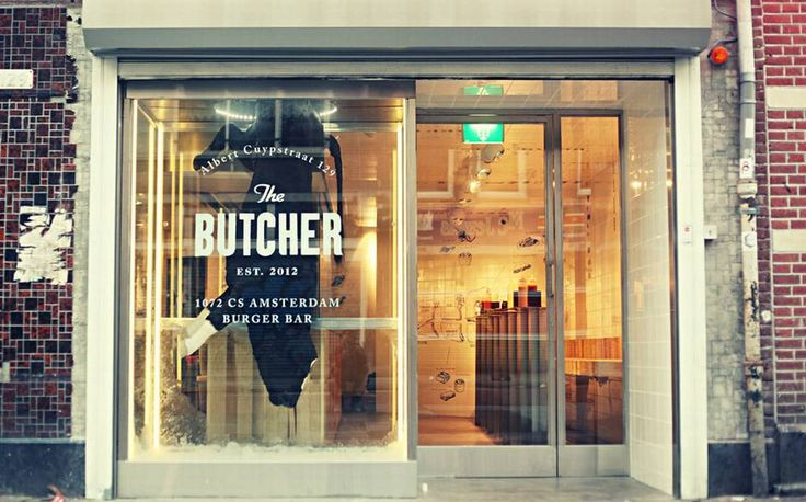 The Butcher burger bar : Beyond its innocuous exterior things aren't quite as they seem.