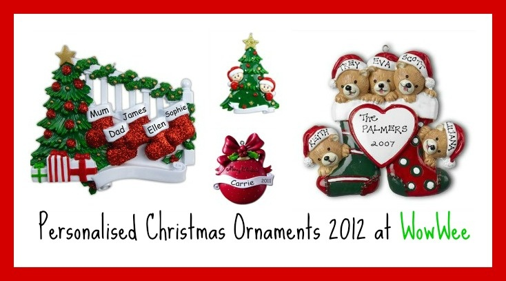 Personalised Christmas Stockings @ Wowwee.co.uk