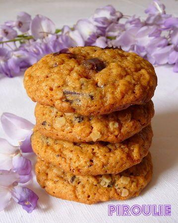 Cookies aux flocons d'avoine et au caramel