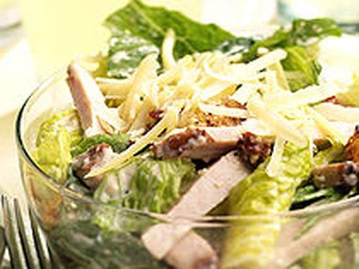 Salade romaine au poulet