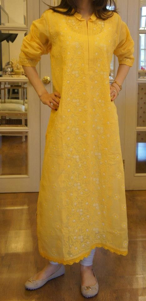 Luckhnavi kurta.. in love with it