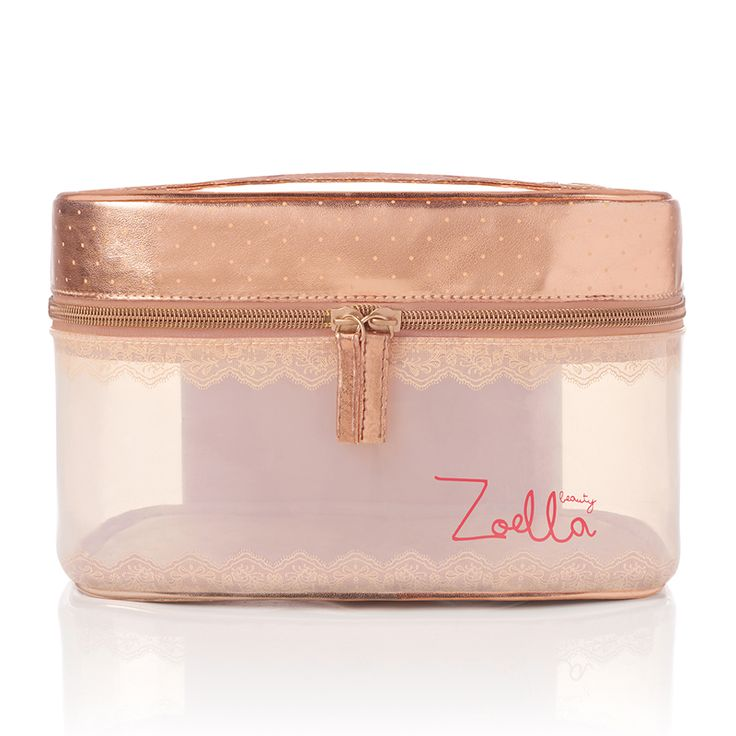 A gorgeous rose gold vanity, perfect for all your Zoella Beauty favourites or overnight essentials.