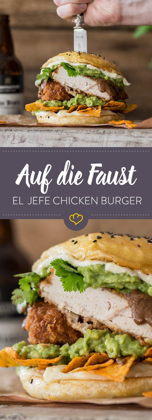 Wenn du einen Burger für deine nächste Grillparty suchst, bist du fündig geworden. Der Tex Mex Burger