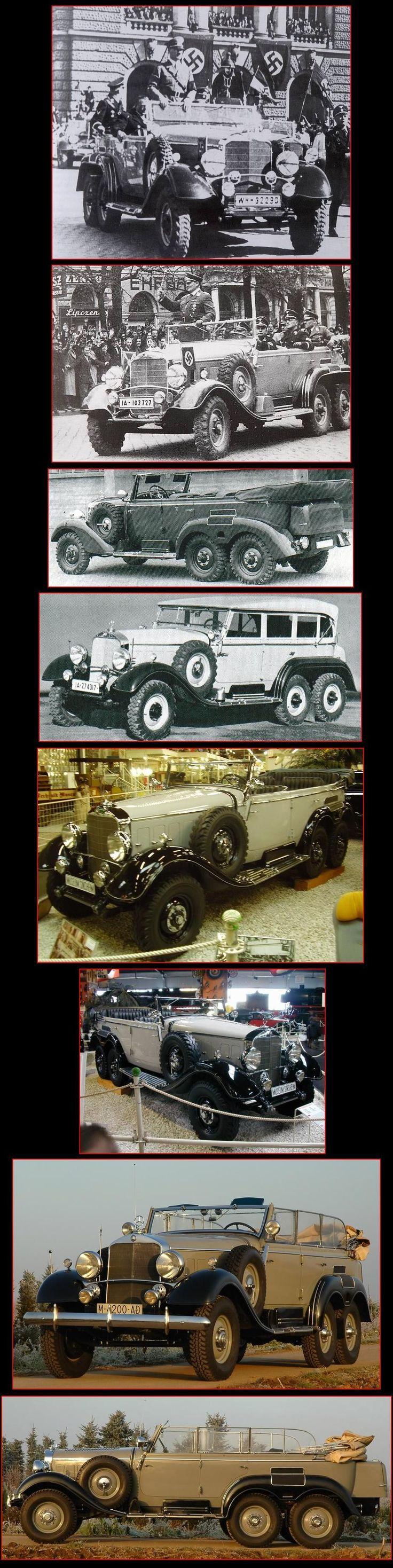 AUTOPASION18 - MERCEDES BENZ G4 (W31) (1938)