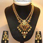 Uncut Diamond Necklace Set photo