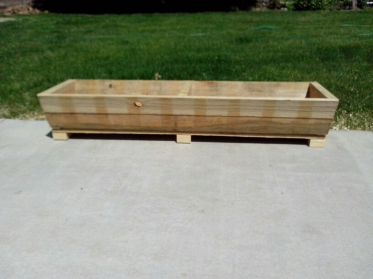 Recycled Pallet Planter Box Gardening Ideas For A Small