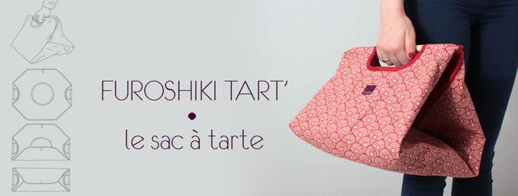 le sac à tarte version Kimeko #sacatarte #piebag #furoshiki #couture #sewing #madeinfrance #handmade #design