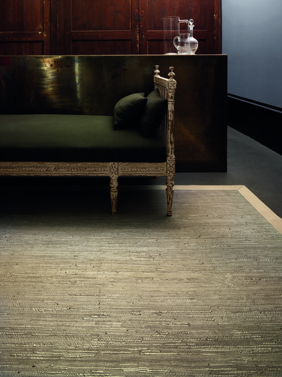 Studioart Leather rug in pezzara. Beautiful design Handmade leather stripes #design #architecture #leather #rug