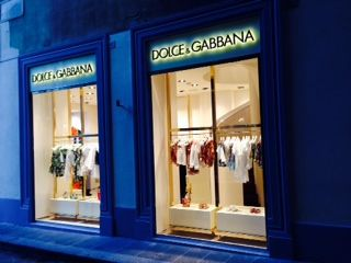 The Dolce & Gabbana Childrenswear Boutique in Florence!