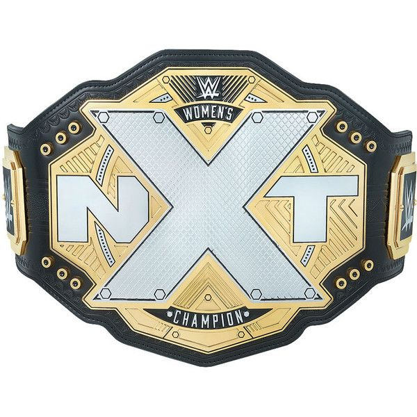 NXT Women's Championship Replica Title (2017) ❤ liked on Polyvore featuring accessories