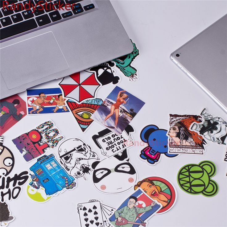 50 random mixed Sticker cartoon Stickers for laptop skateboard bicycle suitcase pvc Rock Design DIY Accessory pop art robot #>=#>=#>=#>=#> Click on the pin to check out discount price, color, size, shipping, etc. Save and like it!