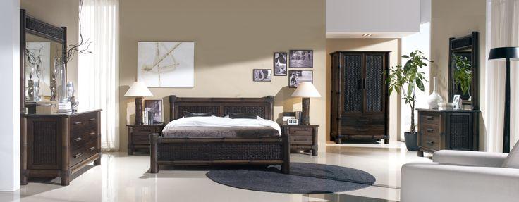 dormitorio bambú modelo tropicana