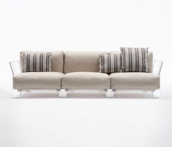 Slipcovers For Sofas Pop Outdoor by Kartell Garden sofas