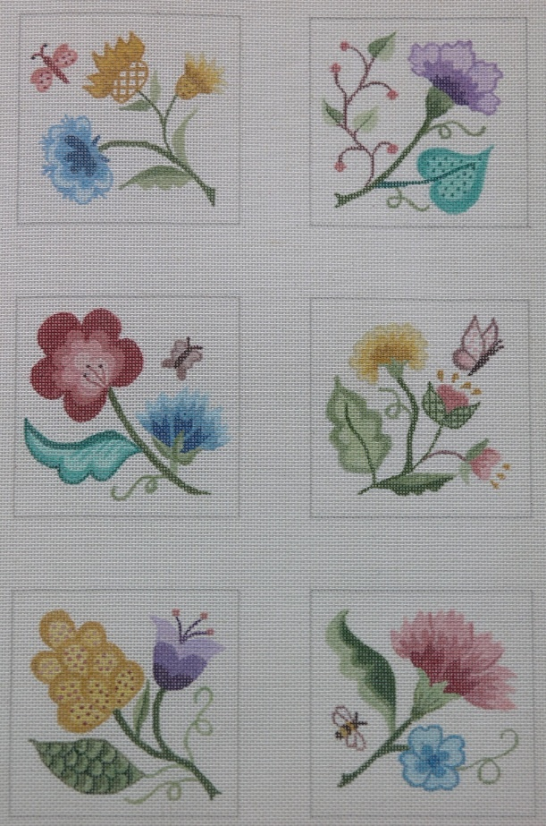 KSH NEEDLEPOINT COLLECTIONS: The GARDEN & WILDLIFE Collection